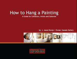 How To Hang a Painting Graphic