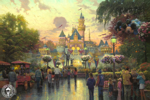 Disneyland 50th Anniversary 18x27 GP #210